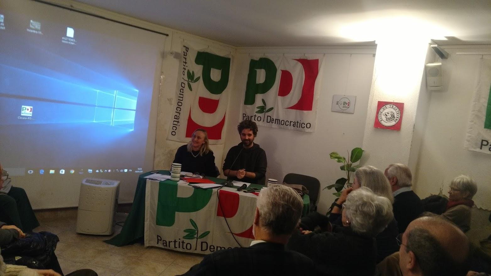 pd roma congresso 2017 circolo trastevere