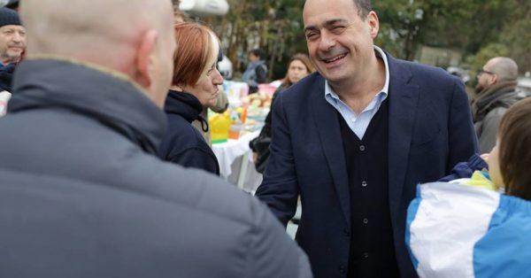 Congresso Pd Roma, il ritorno di Nicola Zingaretti