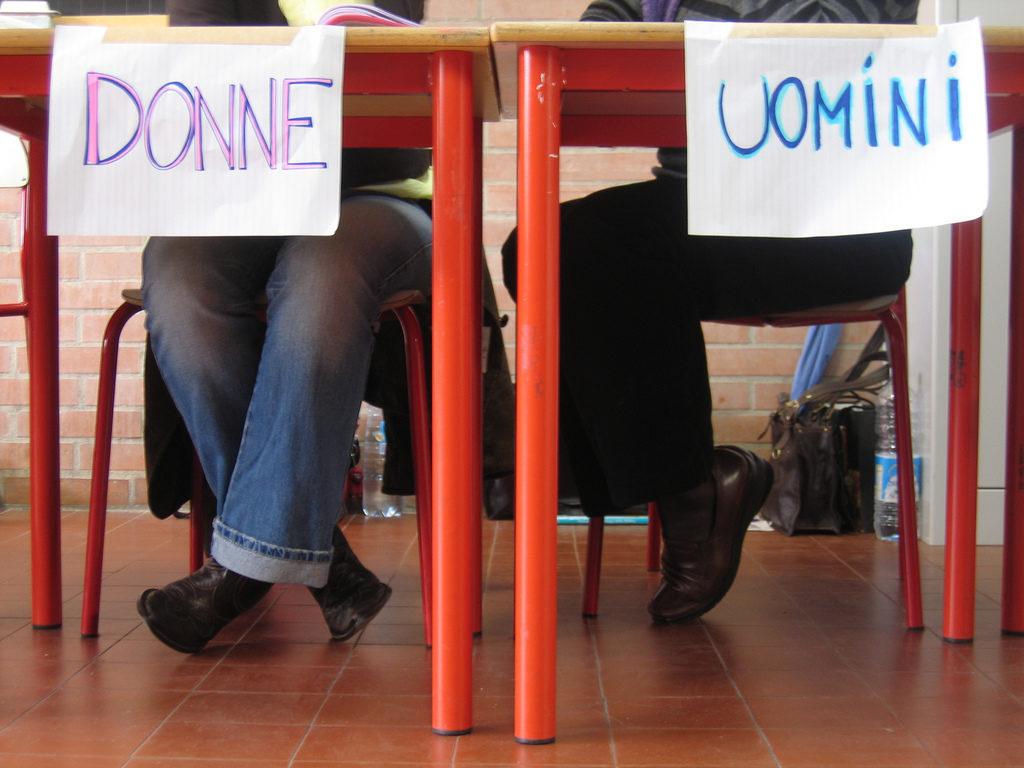 Al seggio. Foto Kiki Follettosa / Flickr