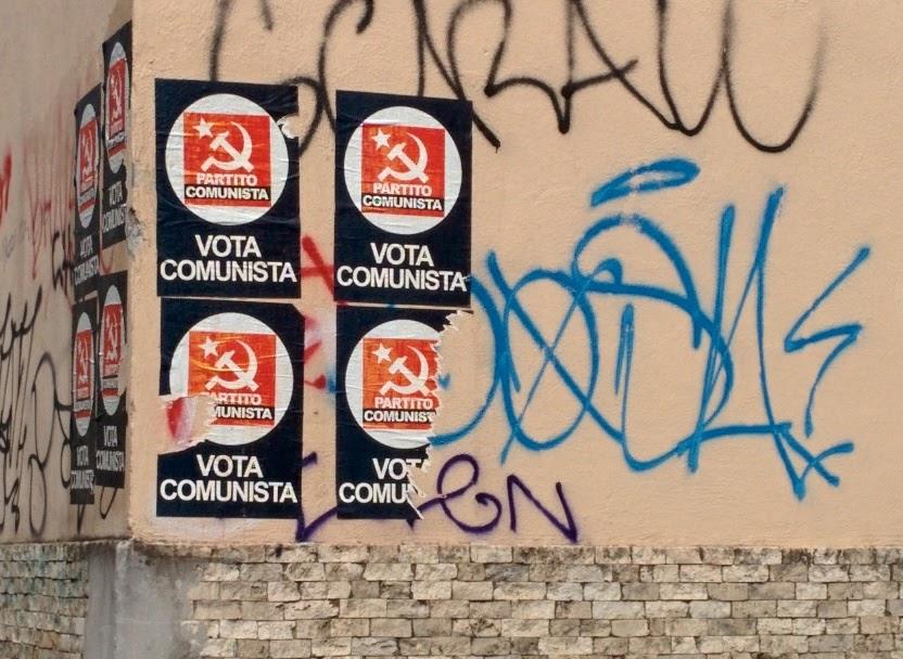 elezioni roma 2016 partito comunista alessandro mustillo manifesti