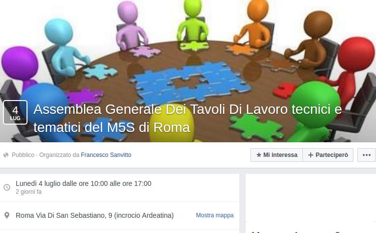 movimento-cinque-stelle-roma-virginia-raggi-assemblea-tavoli-tecnici